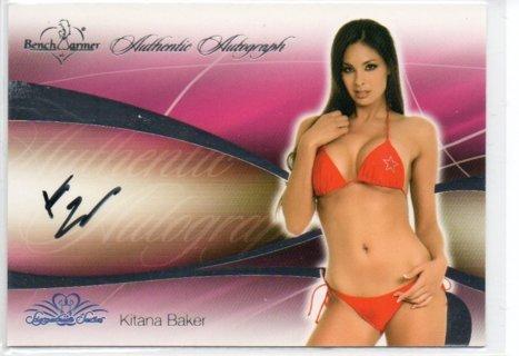 2008 Benchwarmer Kitana Baker Autograph
