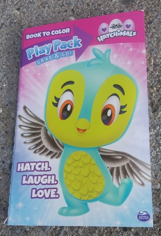 HATCHIMALS SMALL COLORING BOOK