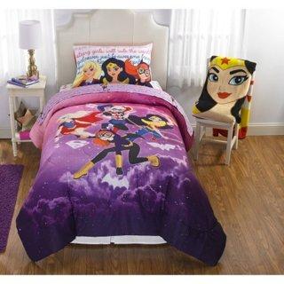 DC Superhero Comforter/ Sheet set Twin