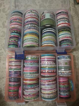 5 skinny washi tapes