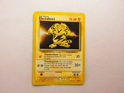 Pokemon Card - Electabuzz 20/102