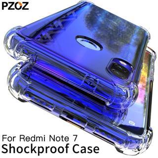 PZOZ For Xiaomi Redmi Note 7 Case Cover Silicone Shockproof Redmi Note 7 Pro Transparent Clear Pro