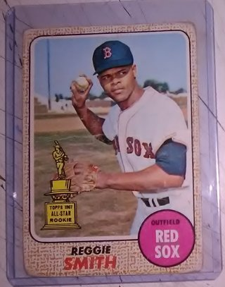 1968 - Reggie Smith - Topps ALL-STAR Rookie Card
