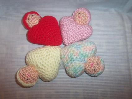 4 sleeping baby hearts  #2