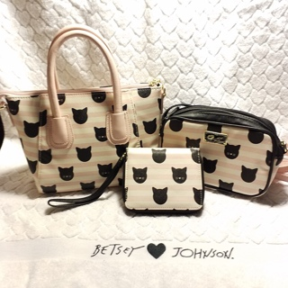 Here Kitty kitty and kitty, Betsey Johnson set