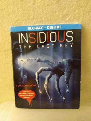 Brand New Insidious Last Key Blu-ray + DVD + Digital Code Combo Pack