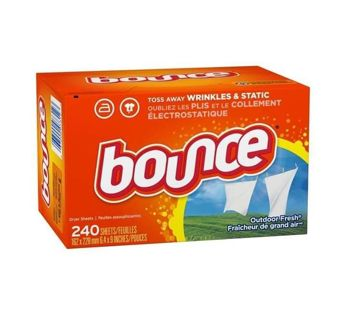 ❣SPECIAL~ Bounce Outdoor Fresh Dryer Sheets 240 Count ~❣