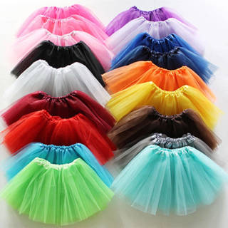 [GIN FOR FREE SHIPPING] Ballet Tutu Mini Dress Pleated Gauze Princess Pettiskirt Lace Skirt