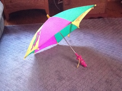 Free Barney Umbrella Other Listiacom Auctions For Free Stuff