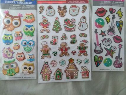 Sticker lot