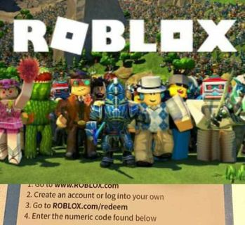 ⭐⚡ $10.00 ROBLOX CARD - LOW GIN ⚡⭐
