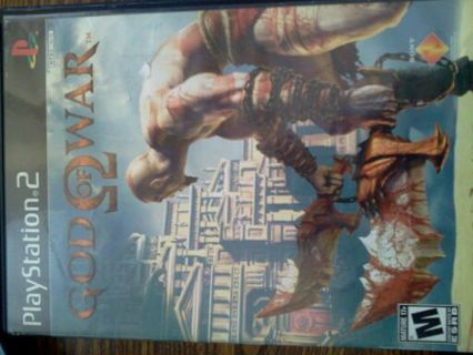 God of war ( Awsome game!! :-) )