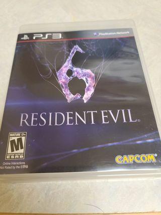 Ps3 Playstation 3 Resident evil 6