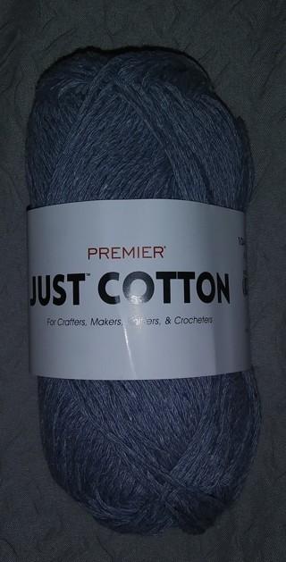 Premier Just Cotton Yarn-Demin Blue