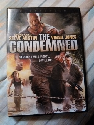 THE CONDEMNED -- WIDESCREEN DVD -- EXCELLENT CONDITION!!