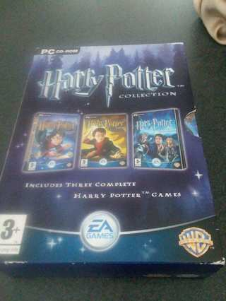 Harry Potter Collection PC CD Rom 3 DVD Games Free Shipping