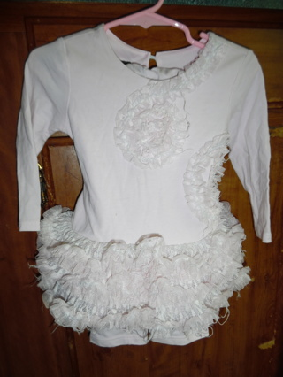 Toddler Girl's 2pc Tutu outfit