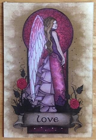 "ANGEL OF LOVE - 3 x 4"" MAGNET"