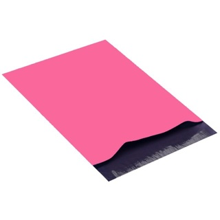 """Qty 5 - 6"""" x 9"""" Small Pink Poly Mailers Shipping Envelopes (2)"""