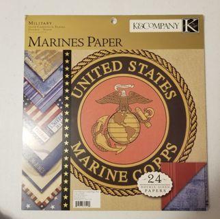Military 12X12 Cardstock Paper
