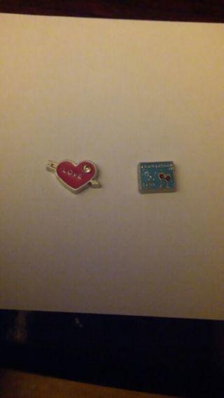 Love heart an 5 year anniversary charm for living locket
