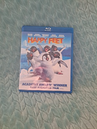 happy feet used blu ray excellent condition