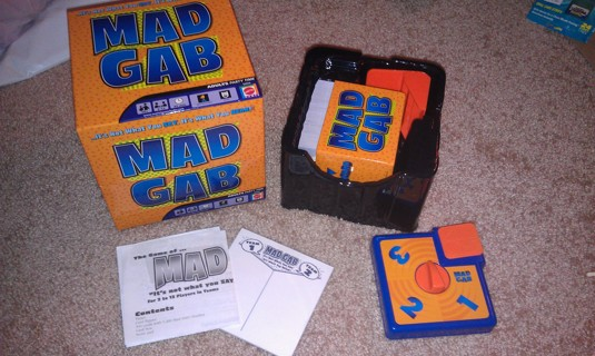 Free Mad Gab Adult Game Have A Blast Nib Other