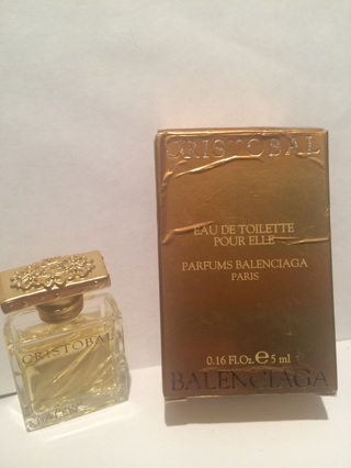 CRISTOBAL BALENCIAGA for Women Eau De Toilette 5 Ml/ 0.16 Fl. Oz.