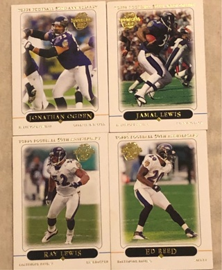 50th Anniversary 2005 Ravens Cards