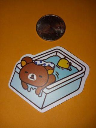 Rilakkuma new vinyl lab top sticker no refunds regular mail only no lower