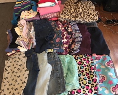 40 Piece Girls Lot Size 5/6/7/8 Mix