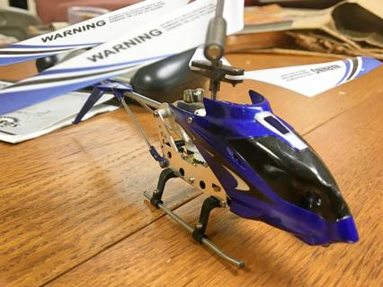 Gyroscope Systems remote control copter!