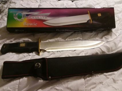New in Box The Quicksilver Bowie aka knife sword Dagger