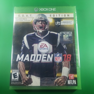NFL Madden 18 GOAT Edition Xbox One