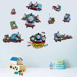 3D Generic Thomas Friend Train Wall Stickers Vinyl Wall Decal Baby Room Decor