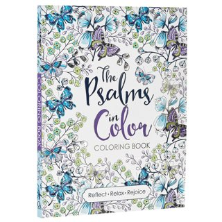 "‍❤~ ""The Psalms in Color"" Inspirational Adult Coloring Book ~‍❤"