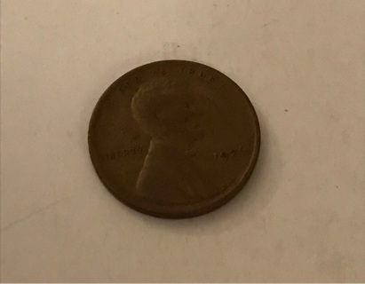 1926 wheat cent Penny coin Lincoln