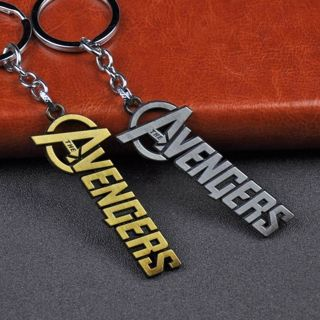 Marvel The Avengers Design Logo Alloy Key Chains Keychain Keyfob Keyring Gift