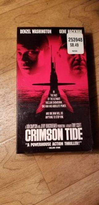Crimson tide VHS.