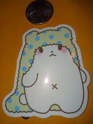 Kawaii really big Cute vinyl sticker no refunds regular mail only Very nice no lower