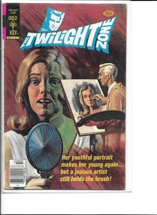 The TwiLight Zone #87 Gold Key Comics