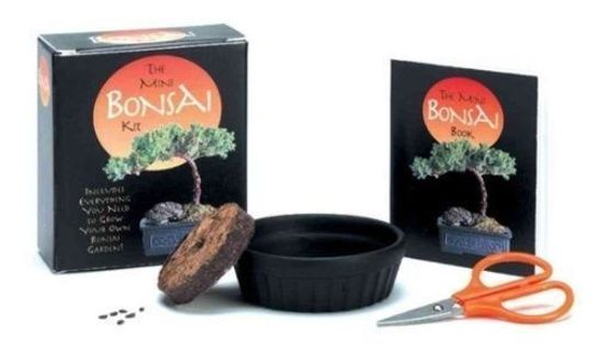MINI BONSAI KIT Grow Your Own! With Robert W. King Paperback Book