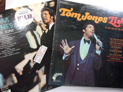 Set of 2 Tom Jones LIVE! & Fever Zone
