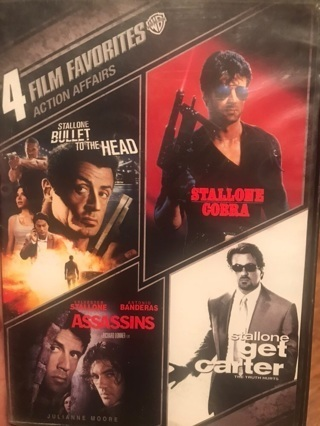 4 Film Favorites: Action Affairs SD MA ONLY