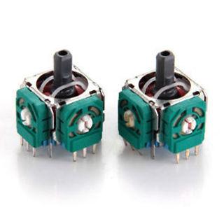 2Pcs Sensor Module Potentiometer Thumbstick Replacements 3D Analog Joystick