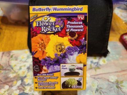 Butterfly/ Hummingbird Flower Rocket