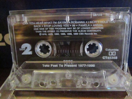 Toto:  Past to Present - Cassette