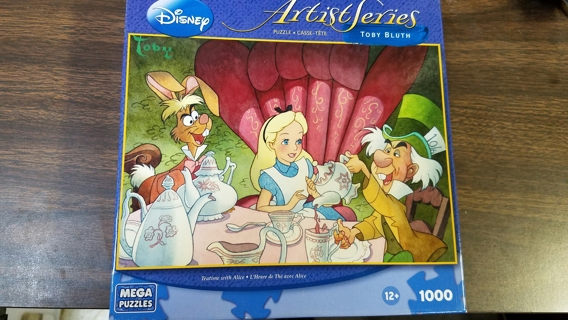 Walt Disney Artist Series Puzzke