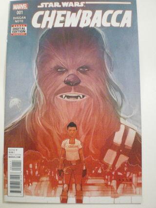 Chewbacca #1 VF/NM Star Wars Marvel Comic