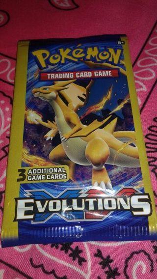 Pokemon Evolutions Booster Pack #3